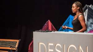 Joy Mckinney at Design Indaba Conference 2014.