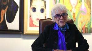 "Artist Margaret Keane is the subject of Tim Burton's newest film ""Big Eyes""."
