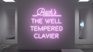 """Bach: The Well Tempered Clavier"" by Alan Warburton"