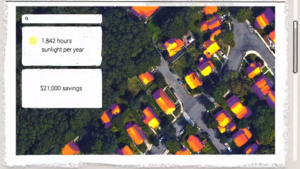 Google's Project Sunroof makes installing solar panels easier.