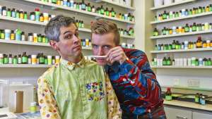 Sam Bompas & Harry Parr make up the celebrated Bompas & Parr.