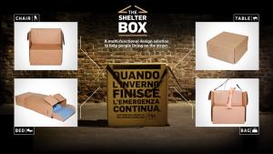 Shelter Box by MIA