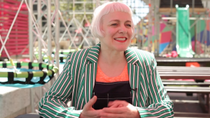 Morag Myerscough at Design Indaba Festival 2018