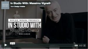 In Studio With: Massimo Vignelli